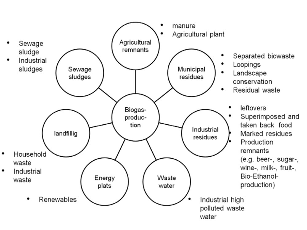 Substrates for biogas production