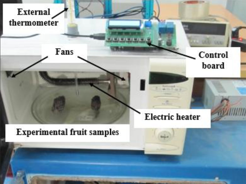 control board for drying equipment based on development of a soft self-tuning PID controller